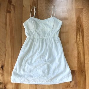 Speechless White Embroidered Dress